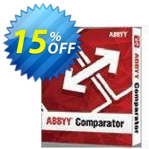 ABBYY Comparator Coupon, discount ABBYY Comparator hottest discount code 2019. Promotion: hottest discount code of ABBYY Comparator 2019