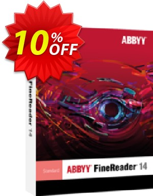 ABBYY FineReader 14 Standard Upgrade Coupon, discount ABBYY FineReader 14 Standard Upgrade best promo code 2019. Promotion: best promo code of ABBYY FineReader 14 Standard Upgrade 2019