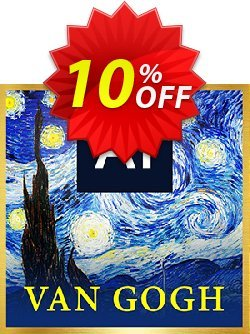 Van Gogh AI Style Pack for PowerDirector Coupon, discount Van Gogh AI Style Pack Includes AI Style Plugin Deal. Promotion: Van Gogh AI Style Pack Includes AI Style Plugin Exclusive offer