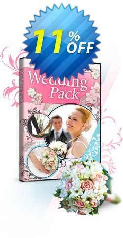 Cyberlink Wedding Pack for PowerDirector Coupon, discount Wedding Pack Deal. Promotion: Wedding Pack Exclusive offer