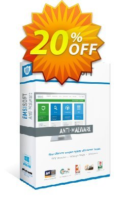 Emsisoft Anti-Malware Home Coupon, discount Emsisoft Anti-Malware Home Super discounts code 2020. Promotion: dreaded discounts code of Emsisoft Anti-Malware Home 2020