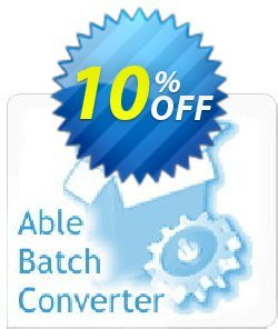 Able Batch Converter - Site License  Coupon, discount Able Batch Converter (Site License) Best discount code 2021. Promotion: super offer code of Able Batch Converter (Site License) 2021