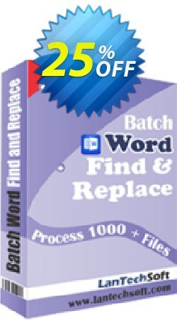 Batch Word Find & Replace Coupon, discount 10%OFF. Promotion: best discounts code of Batch Word Find & Replace 2019