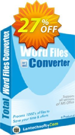 Total Word Files Converter Coupon, discount 10%OFF. Promotion: wonderful promotions code of Total Word Files Converter 2019