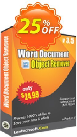 Word Document Object Remover Coupon, discount 10%OFF. Promotion: staggering offer code of Word Document Object Remover 2019
