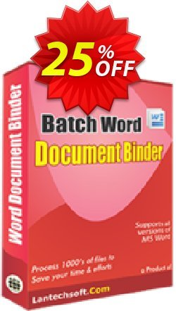 LantechSoft Batch Word Document Binder Coupon discount Christmas Offer. Promotion: super discounts code of Batch Word Document Binder 2020