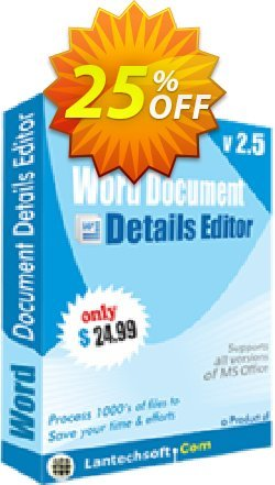 Word Document Details Editor Coupon, discount 10%OFF. Promotion: big deals code of Word Document Details Editor 2019