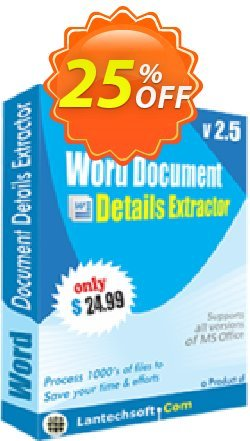 Word Document Details Extractor Coupon, discount 10%OFF. Promotion: hottest offer code of Word Document Details Extractor 2019