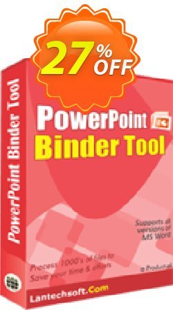 PowerPoint Binder Tool Coupon, discount 10%OFF. Promotion: imposing deals code of PowerPoint Binder Tool 2019