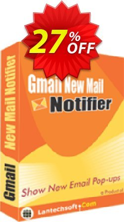 Gmail New Mail Notifier Coupon, discount 10%OFF. Promotion: dreaded offer code of Gmail New Mail Notifier 2019