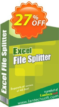 Excel File Splitter Coupon, discount 10%OFF. Promotion: amazing promo code of Excel File Splitter 2019