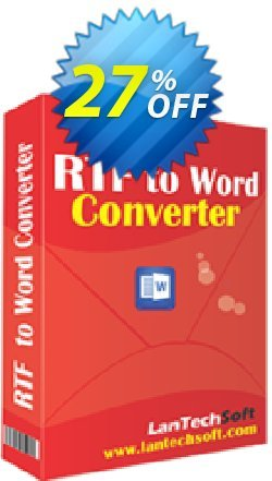 Batch RTF to Word Converter Coupon, discount 10%OFF. Promotion: formidable discount code of Batch RTF to Word Converter 2019
