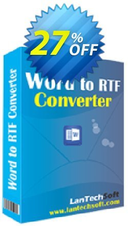 Batch Word to RTF Converter Coupon, discount 10%OFF. Promotion: amazing discount code of Batch Word to RTF Converter 2019