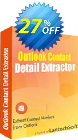Outlook Contact Detail Extractor Coupon, discount 10%OFF. Promotion: big discount code of Outlook Contact Detail Extractor 2019