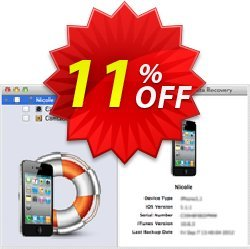 Mac iPhone Data Recovery Coupon, discount Mac iPhone Data Recovery hottest discount code 2019. Promotion: hottest discount code of Mac iPhone Data Recovery 2019