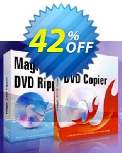 Magic DVD Ripper + Magic DVD Copier - Full License + 2 Years Upgrades  Coupon, discount Promotion offer for MDR+MDC(FL+2). Promotion: dreaded deals code of Magic DVD Ripper + DVD Copier (Full License + 2 Years Upgrades) 2019