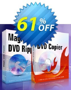 Magic DVD Ripper + Magic DVD Copier Full License - Lifetime Upgrades Coupon, discount Promotion offer for MDC+MDR(FL+lifetime). Promotion: awful promotions code of Magic DVD Ripper + DVD Copier (Full License + Lifetime Upgrades) 2020