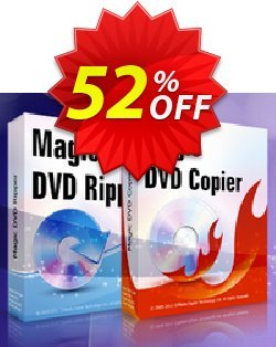 Magic DVD Ripper + Magic DVD Copier - 2 Years Upgrades Coupon, discount Promotion coupon for MDR+MDC(2upgrade). Promotion: big discount code of 2 Years Upgrades for Magic DVD Ripper + Copier 2019