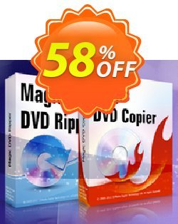 Magic DVD Ripper + Magic DVD Copier - Lifetime Upgrades Coupon, discount Promotion coupon for MDR+MDC(Lifetime). Promotion: exclusive promotions code of Lifetime Upgrades for Magic DVD Ripper + Copier 2019