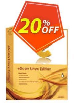 eScan for linux Desktops-Special Offer-1 User 1 Year Coupon, discount eScan for linux Desktops-Special Offer-1 User 1 Year marvelous sales code 2019. Promotion: marvelous sales code of eScan for linux Desktops-Special Offer-1 User 1 Year 2019