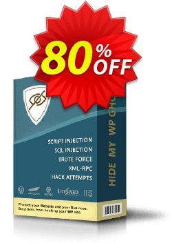 Hide My WP Ghost Coupon, discount 80% OFF Hide My WP Ghost, verified. Promotion: Best sales code of Hide My WP Ghost, tested & approved