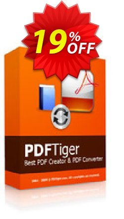Reezaa PDFTiger Coupon, discount discount15. Promotion: best deals code of PDFTiger 2019