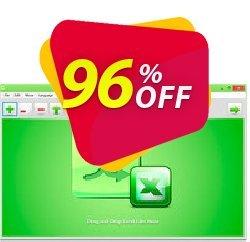 Reezaa Batch Excel to PDF Converter Pro Coupon discount $1.99 USD for Batch Excel to PDF Converter Commercial License. Promotion: Super promotions code of Batch Excel to PDF Converter Pro 2021