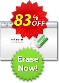 Reezaa PDF Eraser PRO Coupon, discount 3usdreseller. Promotion: formidable promotions code of PDF Eraser PRO 2019