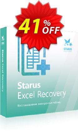 Starus Excel Recovery Coupon, discount Starus Excel Recovery wonderful discount code 2020. Promotion: wonderful discount code of Starus Excel Recovery 2020