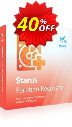 Starus Partition Recovery Coupon, discount Starus Partition Recovery stirring discount code 2020. Promotion: stirring discount code of Starus Partition Recovery 2020