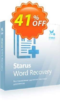 Starus Word Recovery Coupon, discount Starus Word Recovery dreaded sales code 2020. Promotion: dreaded sales code of Starus Word Recovery 2020