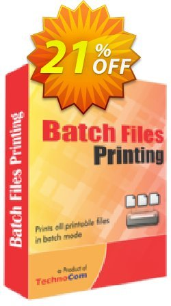 Batch Files Printing Coupon, discount 10%OFF. Promotion: wonderful promo code of Batch Files Printing 2019