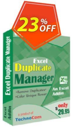 Execl Duplicate Manager Coupon, discount 10%OFF. Promotion: big sales code of Execl Duplicate Manager 2019