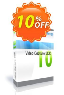 Video Capture SDK Professional - One Developer Coupon, discount 10%. Promotion: awesome discount code of Video Capture SDK Professional - One Developer 2019