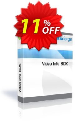 Video Info SDK Coupon, discount 10%. Promotion: special offer code of Video Info SDK 2019