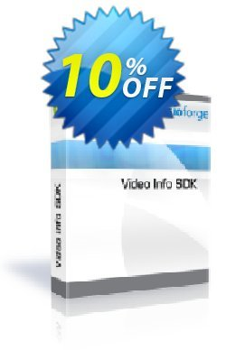 Video Info SDK with Source Code Coupon, discount 10%. Promotion: exclusive discount code of Video Info SDK with Source Code 2019