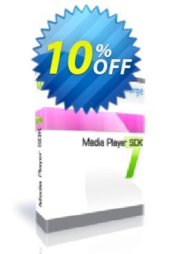 Media Player SDK with Source code - One Developer Coupon, discount 10%. Promotion: staggering discounts code of Media Player SDK with Source code - One Developer 2019