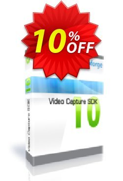 Video Capture SDK Premium - One Developer Coupon, discount 10%. Promotion: amazing deals code of Video Capture SDK Premium - One Developer 2020