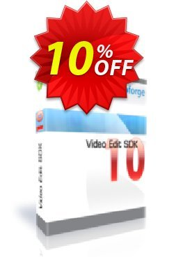 Video Edit SDK Standard- One Developer Coupon, discount 10%. Promotion: best discount code of Video Edit SDK Standard- One Developer 2019