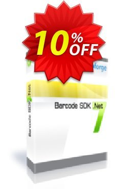Barcode SDK .Net - One Developer Coupon, discount 10%. Promotion: excellent discount code of Barcode SDK .Net - One Developer 2019