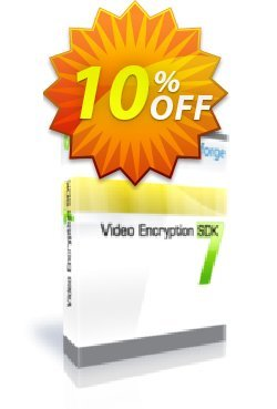 Video Encryption SDK - One Developer Coupon, discount 10%. Promotion: marvelous promotions code of Video Encryption SDK - One Developer 2019