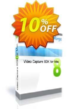 Video Capture SDK for Mac - One Developer Coupon, discount 10%. Promotion: dreaded discounts code of Video Capture SDK for Mac - One Developer 2019
