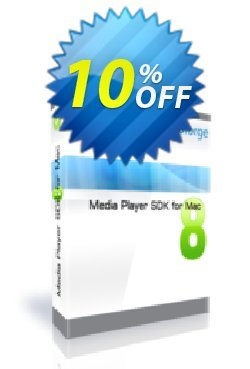Media Player SDK for Mac - One Developer Coupon, discount 10%. Promotion: exclusive discounts code of Media Player SDK for Mac - One Developer 2019