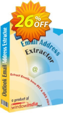 WindowIndia Outlook Email Address Extractor Coupon, discount Christmas OFF. Promotion: awful discount code of Outlook Email Address Extractor 2020