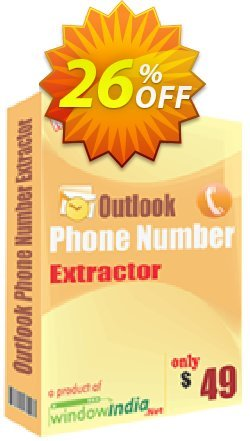 WindowIndia Outlook Phone Number Extractor Coupon, discount Christmas OFF. Promotion: staggering discount code of Outlook Phone Number Extractor 2020