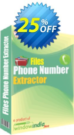 WindowIndia Files Phone Number Extractor Coupon, discount Christmas OFF. Promotion: stunning discount code of Files Phone Number Extractor 2020