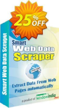 SMART Web Data Scraper Coupon, discount 25% OFF. Promotion: stirring discounts code of SMART Web Data Scraper 2019