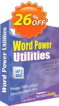 WindowIndia Word Power Utilities Coupon, discount Christmas OFF. Promotion: big offer code of Word Power Utilities 2020