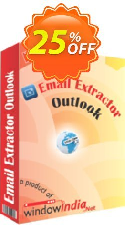 WindowIndia Email Extractor Outlook Coupon, discount Christmas OFF. Promotion: exclusive deals code of Email Extractor Outlook 2020