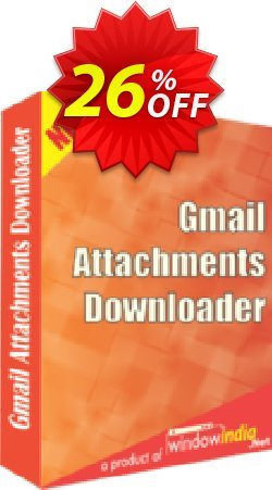 WindowIndia Gmail Attachments Downloader Coupon, discount Christmas OFF. Promotion: stirring discounts code of Gmail Attachments Downloader 2020